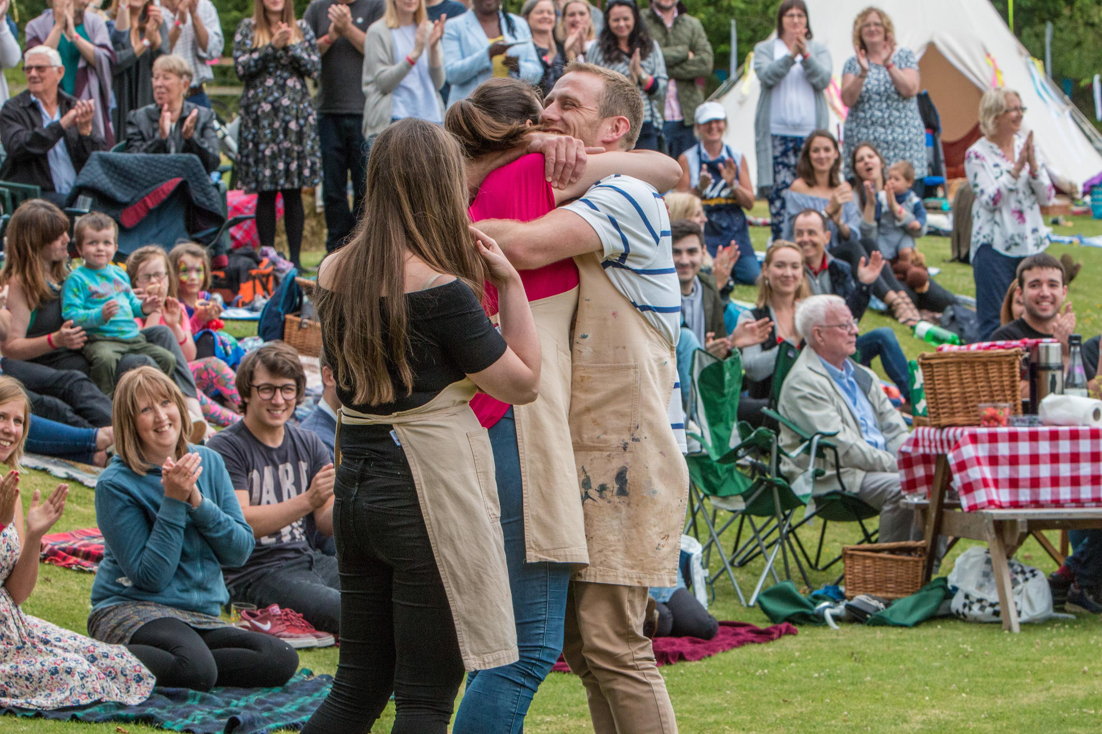 The Great British Bake Off 2017 - Winner Sophie (Channel 4, JG)