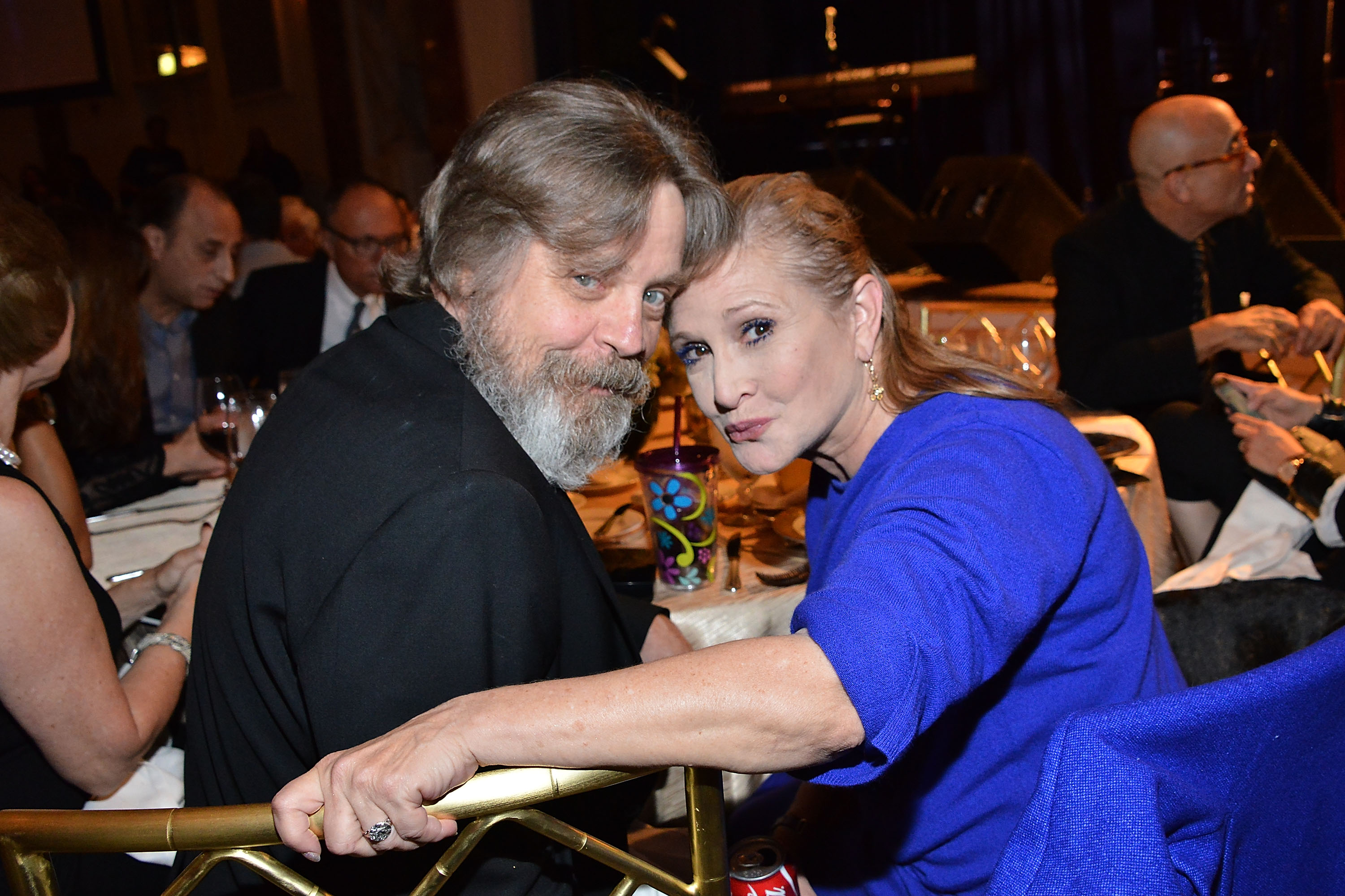 Mark Hamill with Carrie Fisher (Getty, EH)