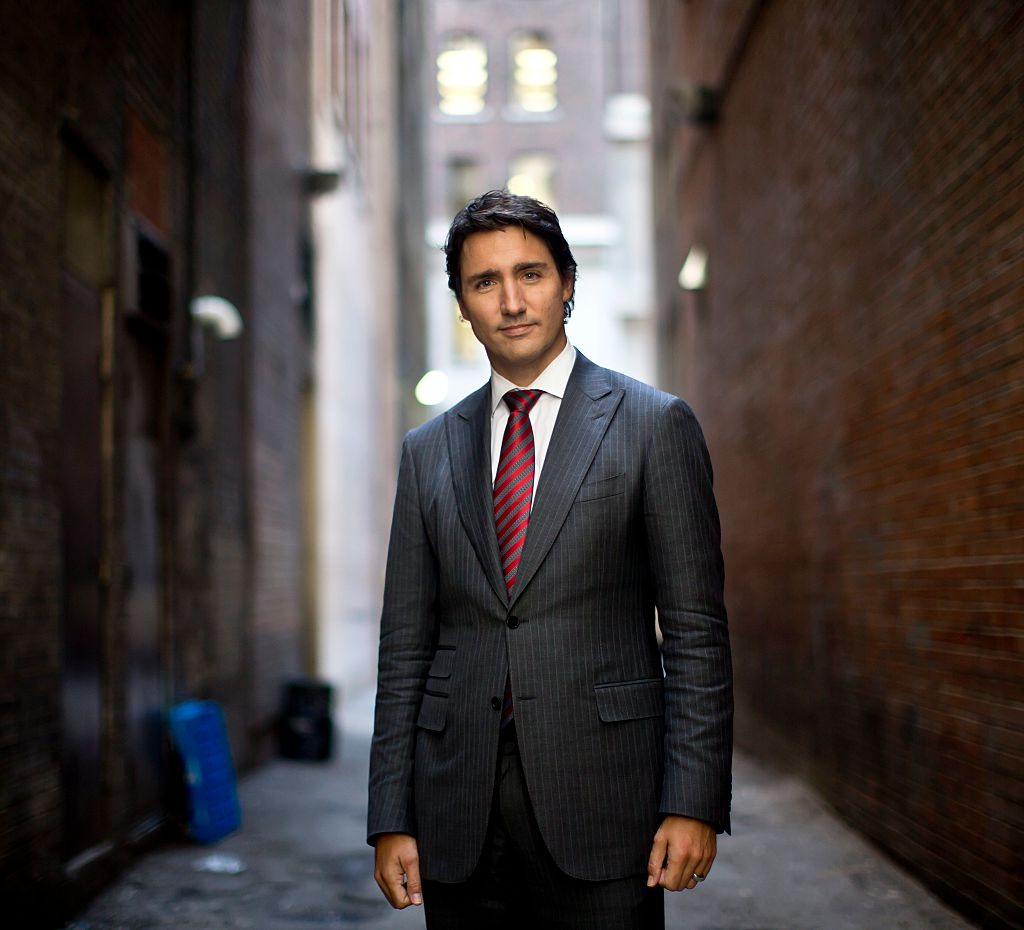 TORONTO, ON - OCTOBER 9: Justin Trudeau photographed in downtown Toronto following an interview regarding his memoir, 'Common Ground'.        (Lucas Oleniuk/Toronto Star via Getty Images, BA)