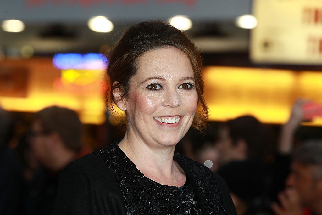 "LONDON, ENGLAND - OCTOBER 13:  Olivia Colman attends a screening of ""The Lobster"" during the BFI London Film Festival at Vue Leicester Square on October 13, 2015 in London, England.  (Photo by Fred Duval/FilmMagic, BA)"