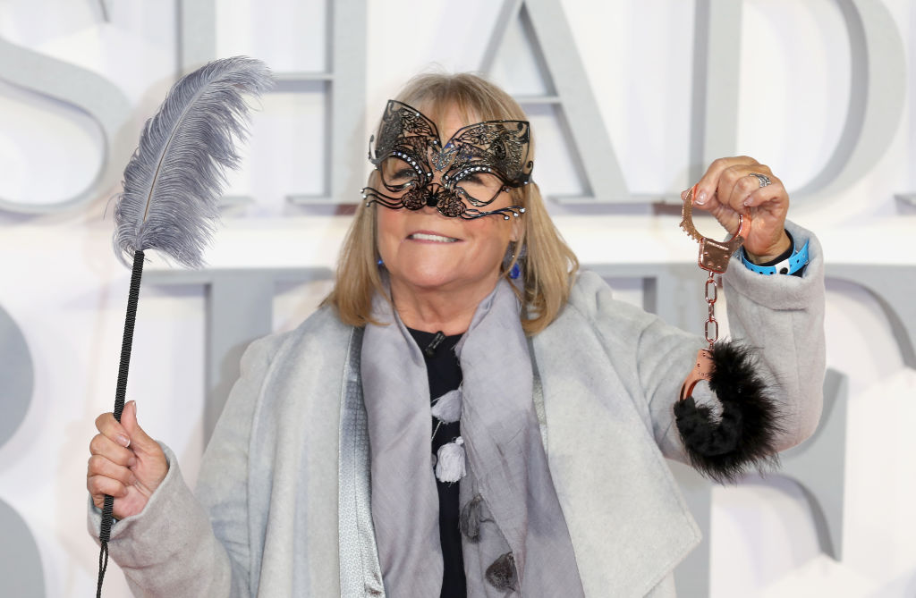 """LONDON, ENGLAND - FEBRUARY 09: Linda Robson attends the UK Premiere of """"Fifty Shades Darker"""" at the Odeon Leicester Square on February 9, 2017 in London, United Kingdom. (Photo by Tim P. Whitby/Getty Images, BA)"""