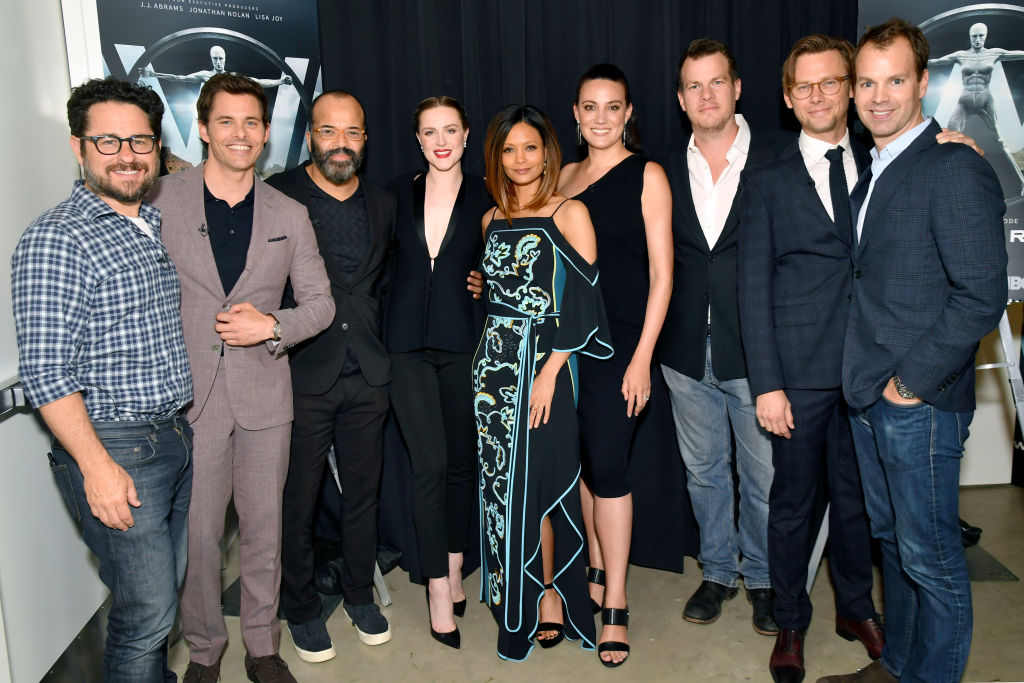 at HBO's 'Westworld' FYC panel at the Saban Media Center on May 30, 2017 in North Hollywood, California. (Getty, BA)