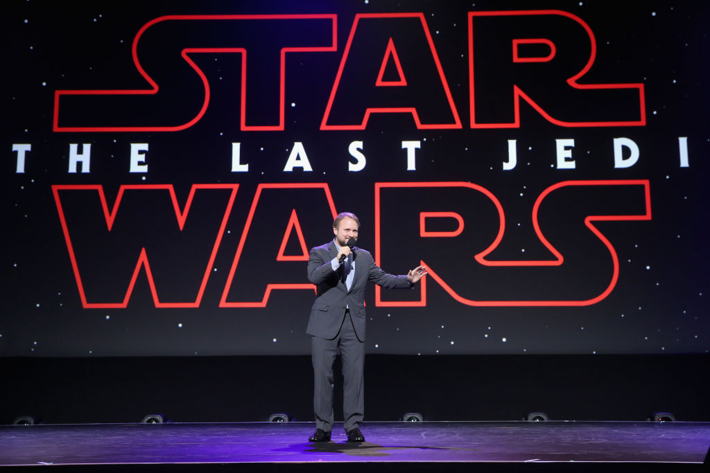 Star Wars: The Last Jedi director Rian Johnson at Disney's D23 EXPO 2017 (Getty, JG)