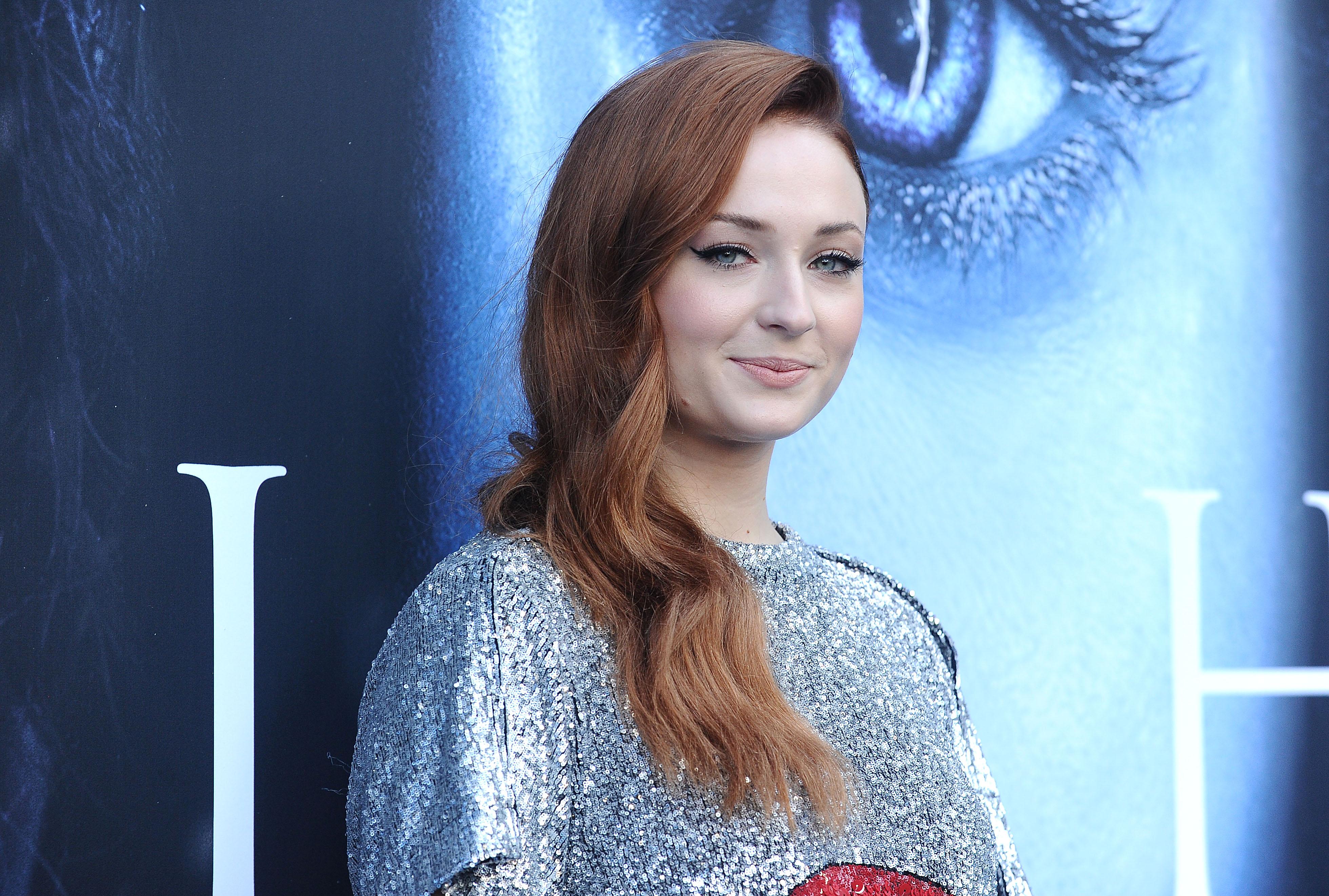 Sophie Turner at Game of Thrones premiere