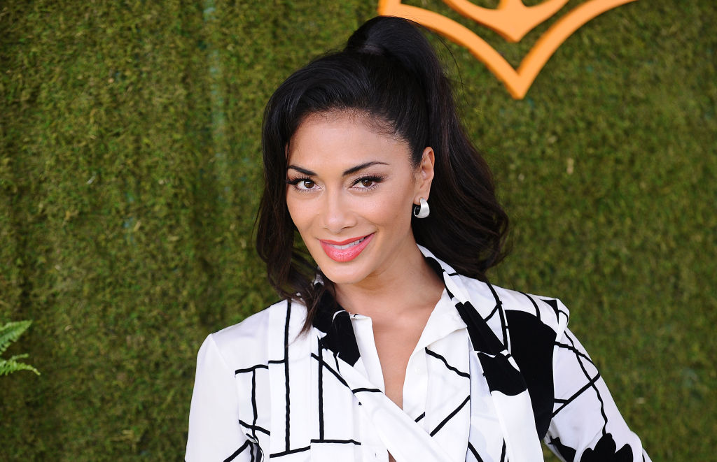 PACIFIC PALISADES, CA - OCTOBER 14:  Nicole Scherzinger attends the 8th annual Veuve Clicquot Polo Classic at Will Rogers State Historic Park on October 14, 2017 in Pacific Palisades, California.  (Photo by Jason LaVeris/FilmMagic) (BA)