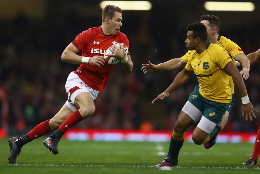 during the Autumn International between Wales and Australia at the Principality Stadium on November 11, 2017 in Cardiff, Wales. (Getty, BA)