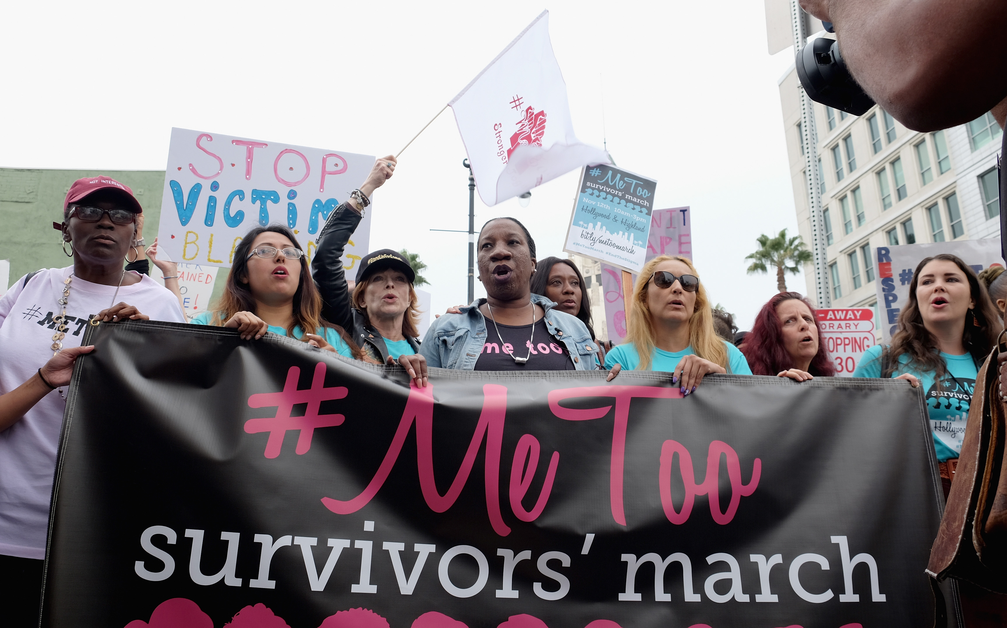 #MeToo march (Getty, EH)