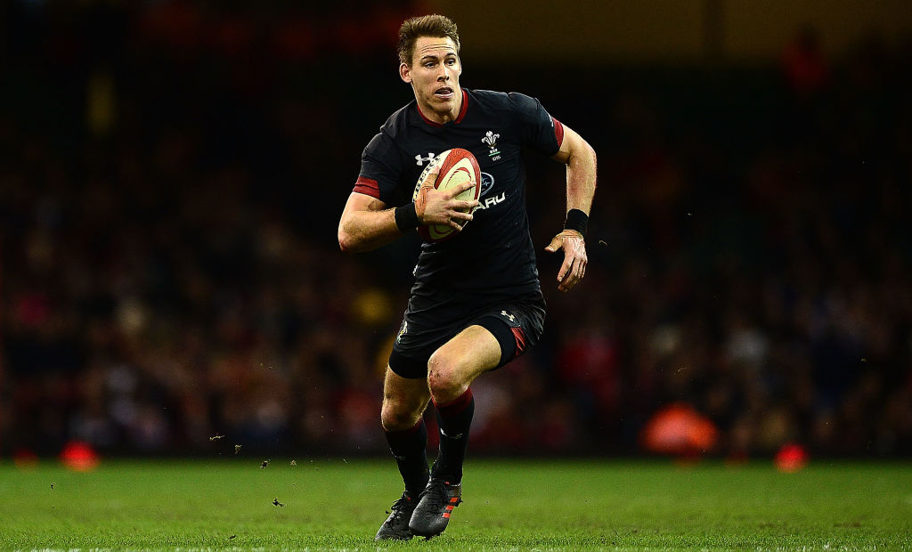 CARDIFF, WALES - NOVEMBER 18: Liam Williams of Wales during the Under Armour Series 2017 match between Wales and Georgia at the Principality Stadium on November 18, 2017 in Cardiff, Wales. (Photo by Harry Trump/Getty Images, BA)