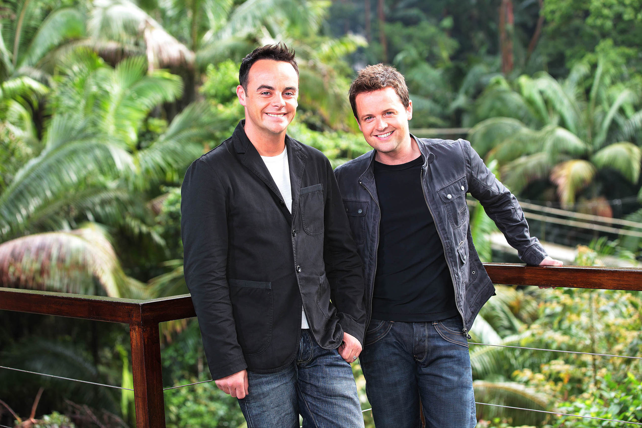 Ant and Dec in the I'm A Celeb jungle