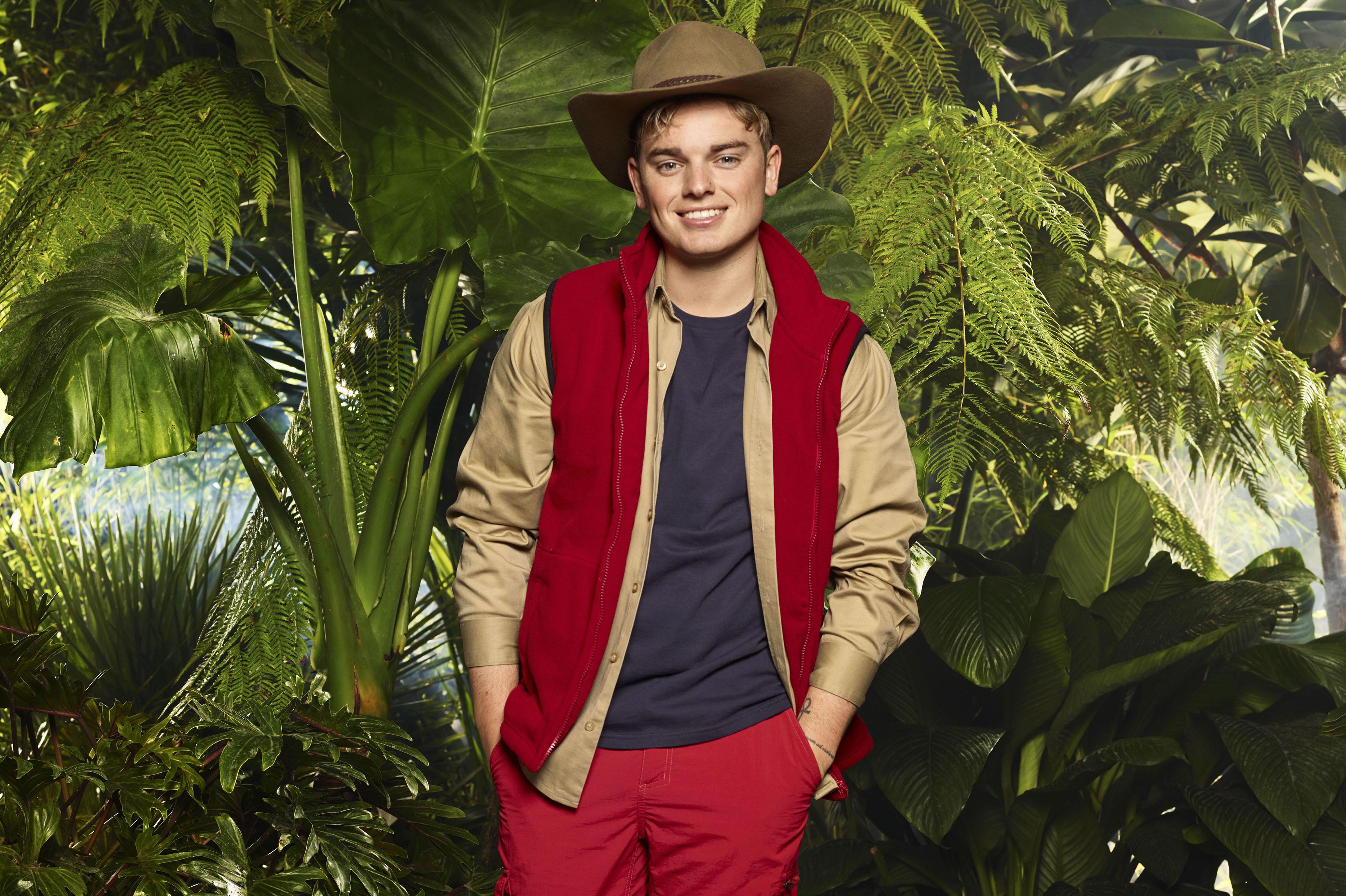 Jack Maynard I'm a Celebrity 2017 profile (ITV Studios, JG)