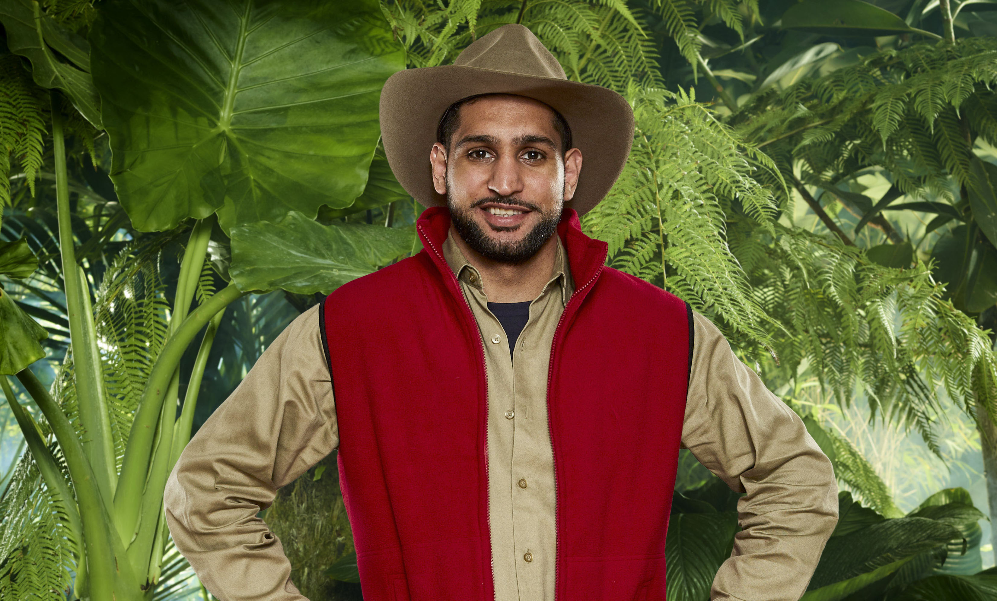 Amir Khan I'm a Celebrity 2017 profile