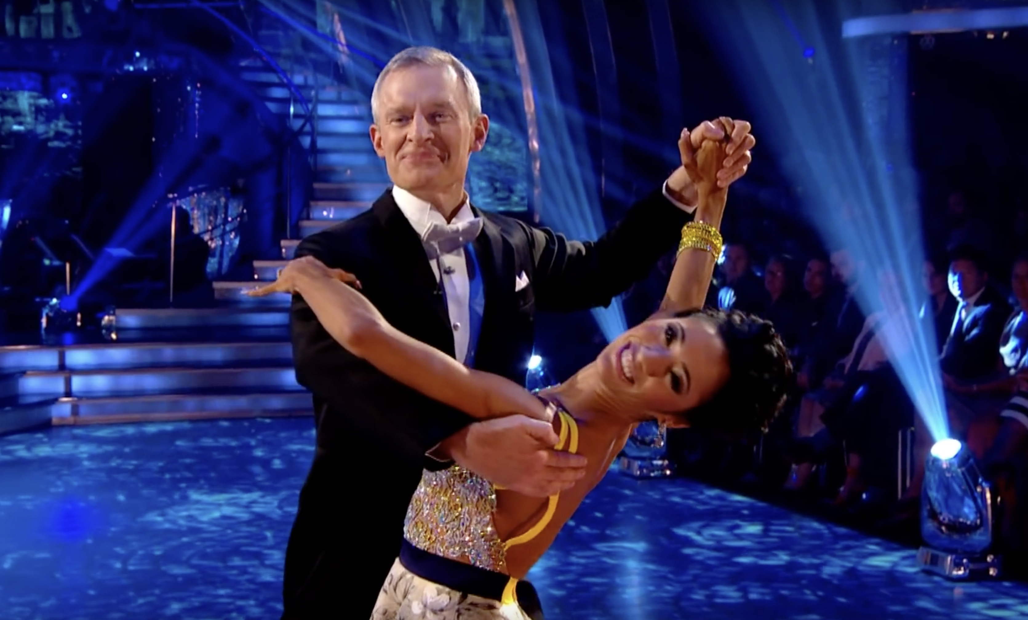 Jeremy Vine and Karen Clifton on Strictly Come Dancing 2015