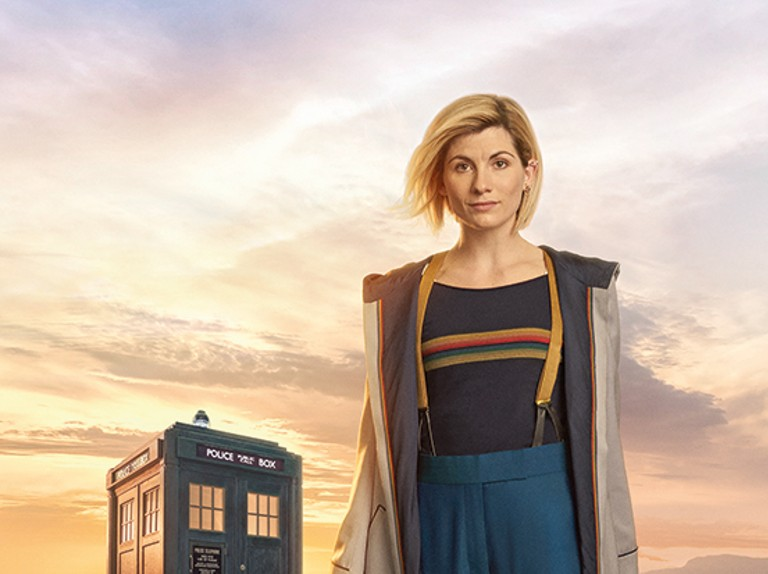 Picture shows: The Doctor (Jodie Whittaker), BBC publicity image, BD