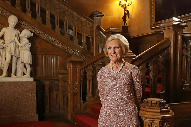 Mary Berry at Highclere Castle