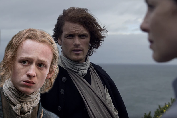 Young Ian, Claire and Jamie - Outlander (Starz, SD)