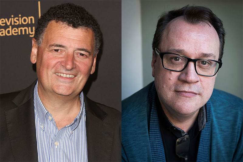 Steven Moffat and Russell T Davies (Getty, HF)
