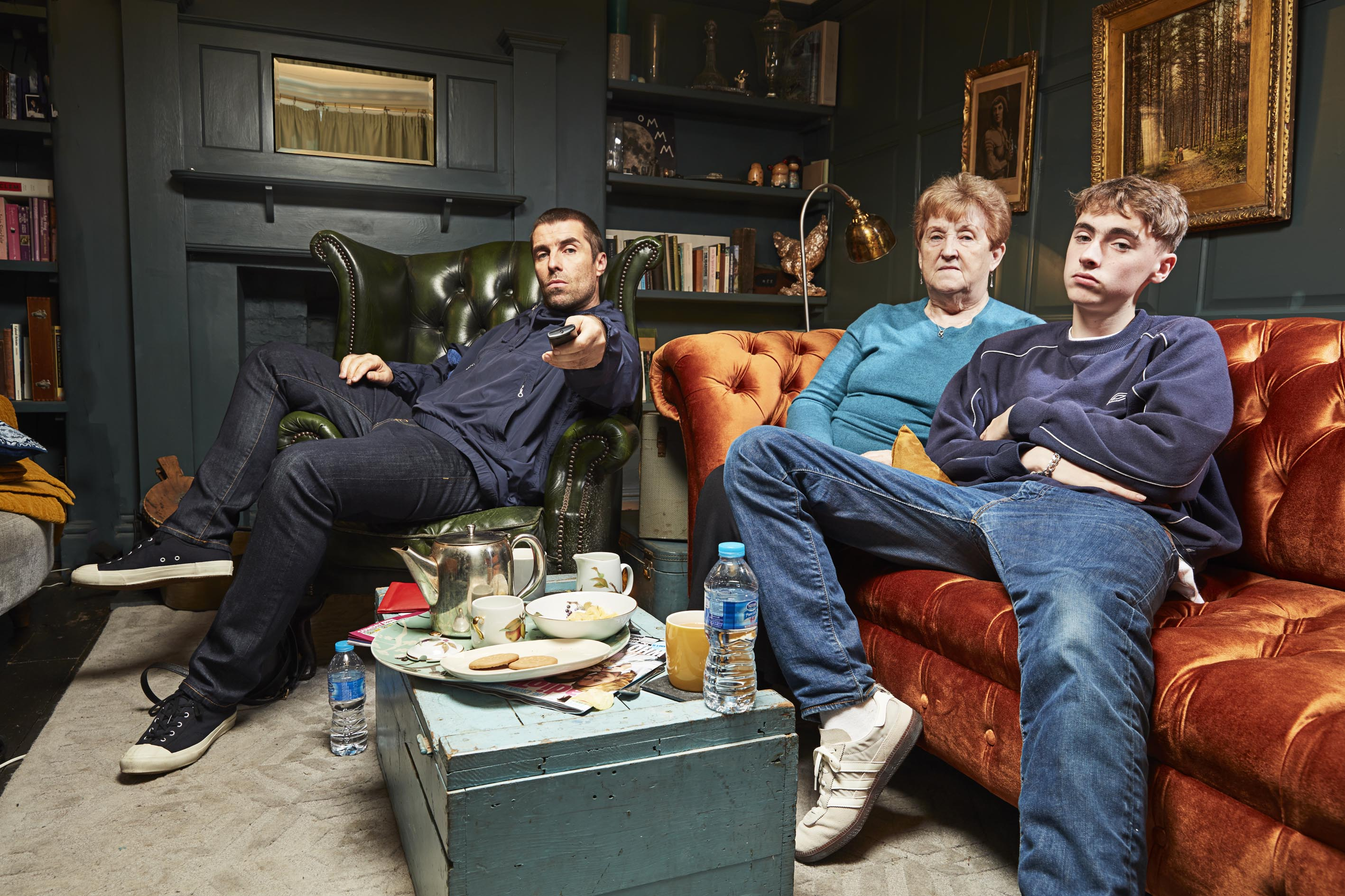Celebrity Gogglebox Liam Gallagher Breaks Hearts In Stand