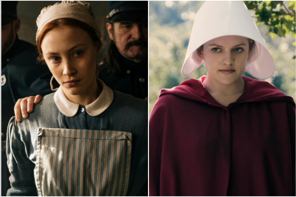 Alias Grace and The Handmaid's Tale (Netflix/Premier comms, EH)