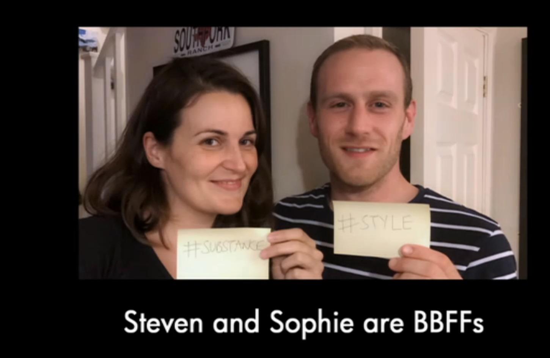 Bake Off Sophie and Steven