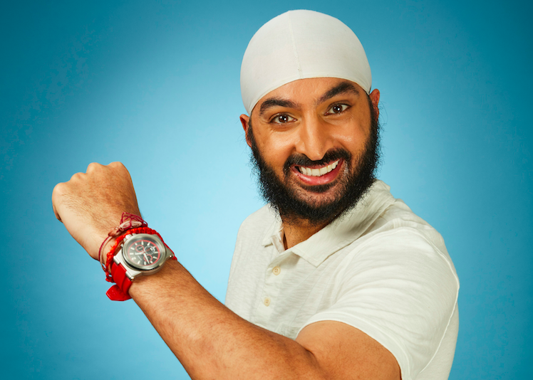 Former cricketer Monty Panesar lacing up his skates for Dancing On Ice