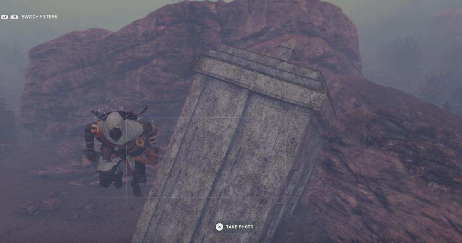 Doctor Who Easter Egg in Assassin's Creed Origins (YouTube. JG)