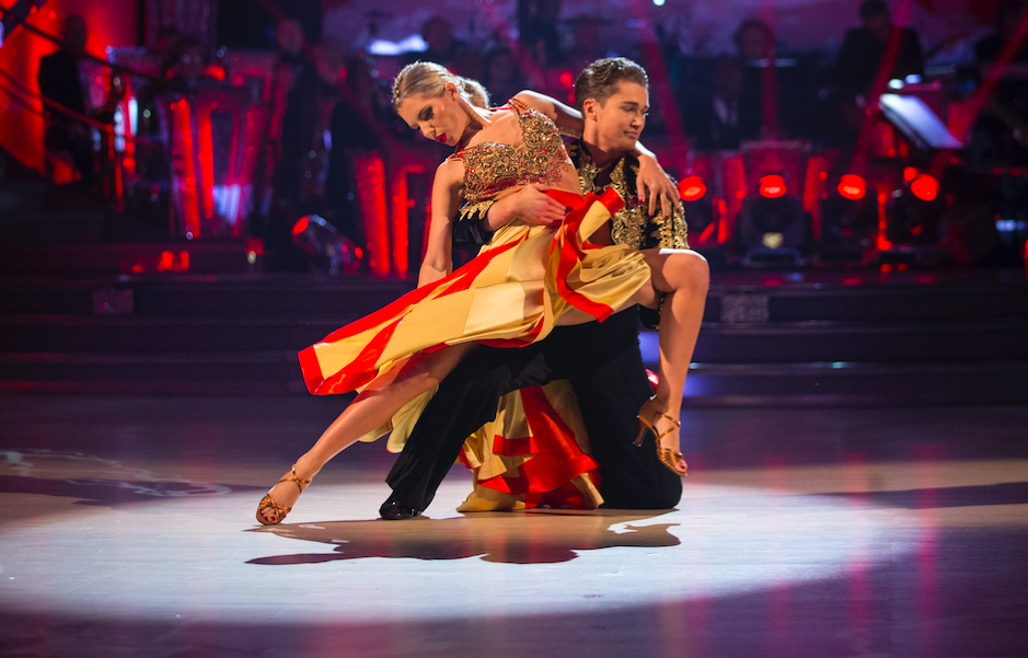 Mollie King on Strictly Come Dancing 2017