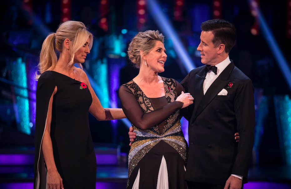 Ruth Langsford on Strictly Come Dancing 2017
