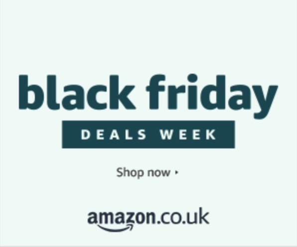 Amazon Black Friday banner