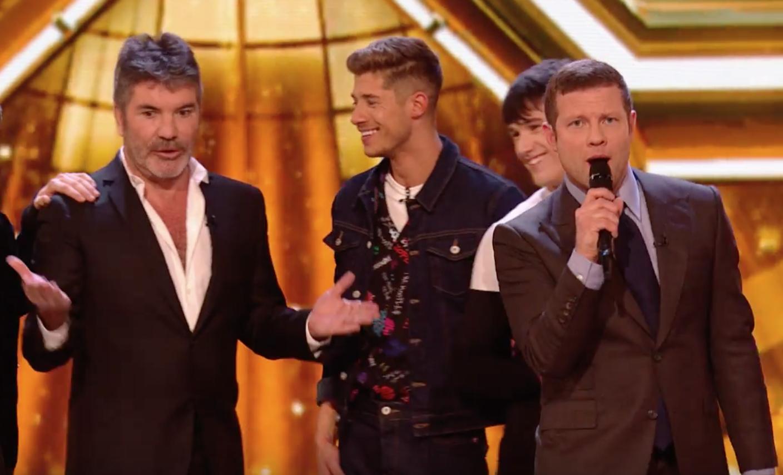 X Factor Simon Cowell angry