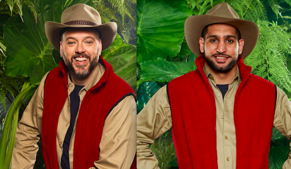 Iain Lee and Amir Khan on I'm a Celebrity