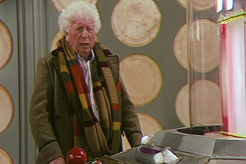 Tom Baker in the newly-completed Shada (BBC, HF)