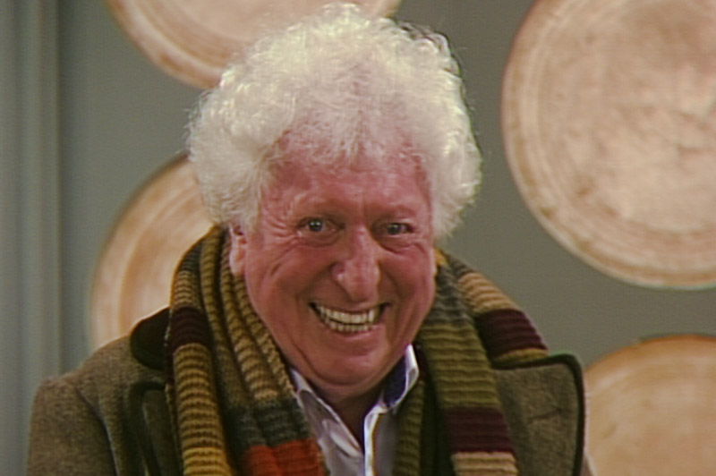 Tom Baker returns to Dr Who to complete lost episode