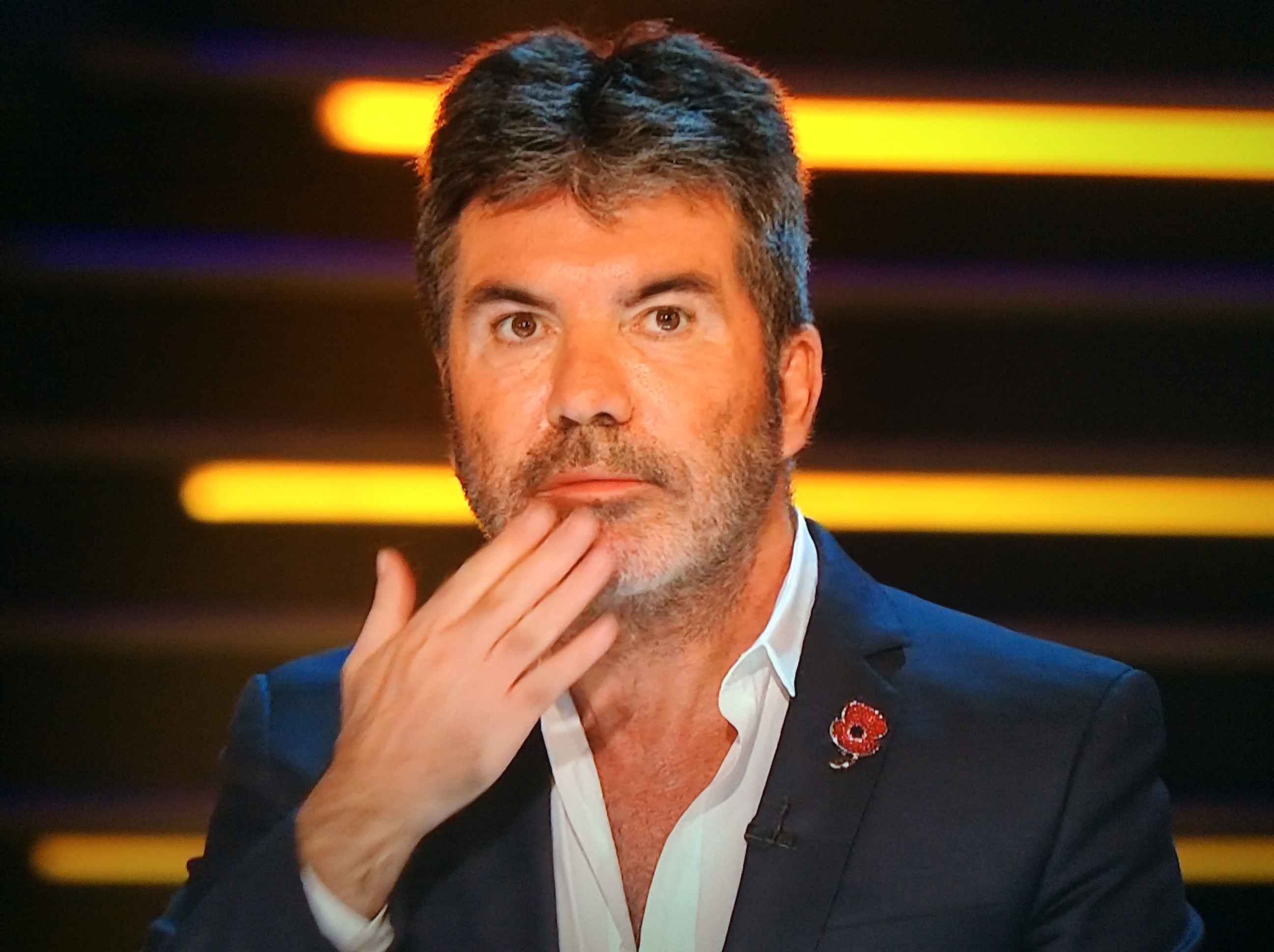 Simon Cowell on week 2 of The X Factor