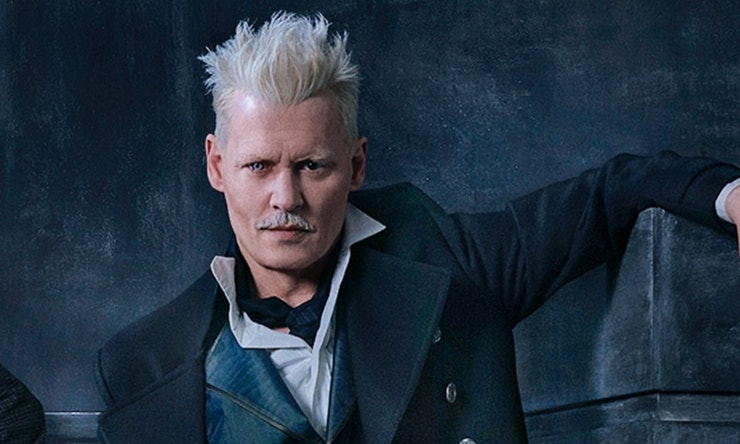 Johnny Depp is Grindelwald in Fantastic Beasts 2
