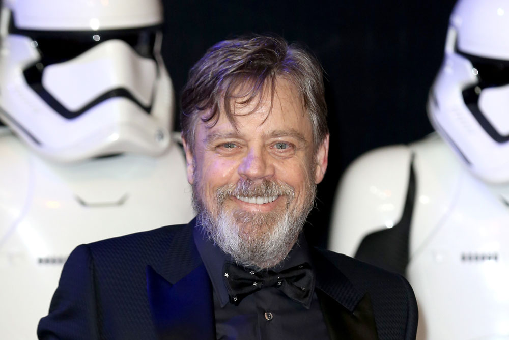 Mark Hamill surprises 'Star Wars' fans on Disneyland ride