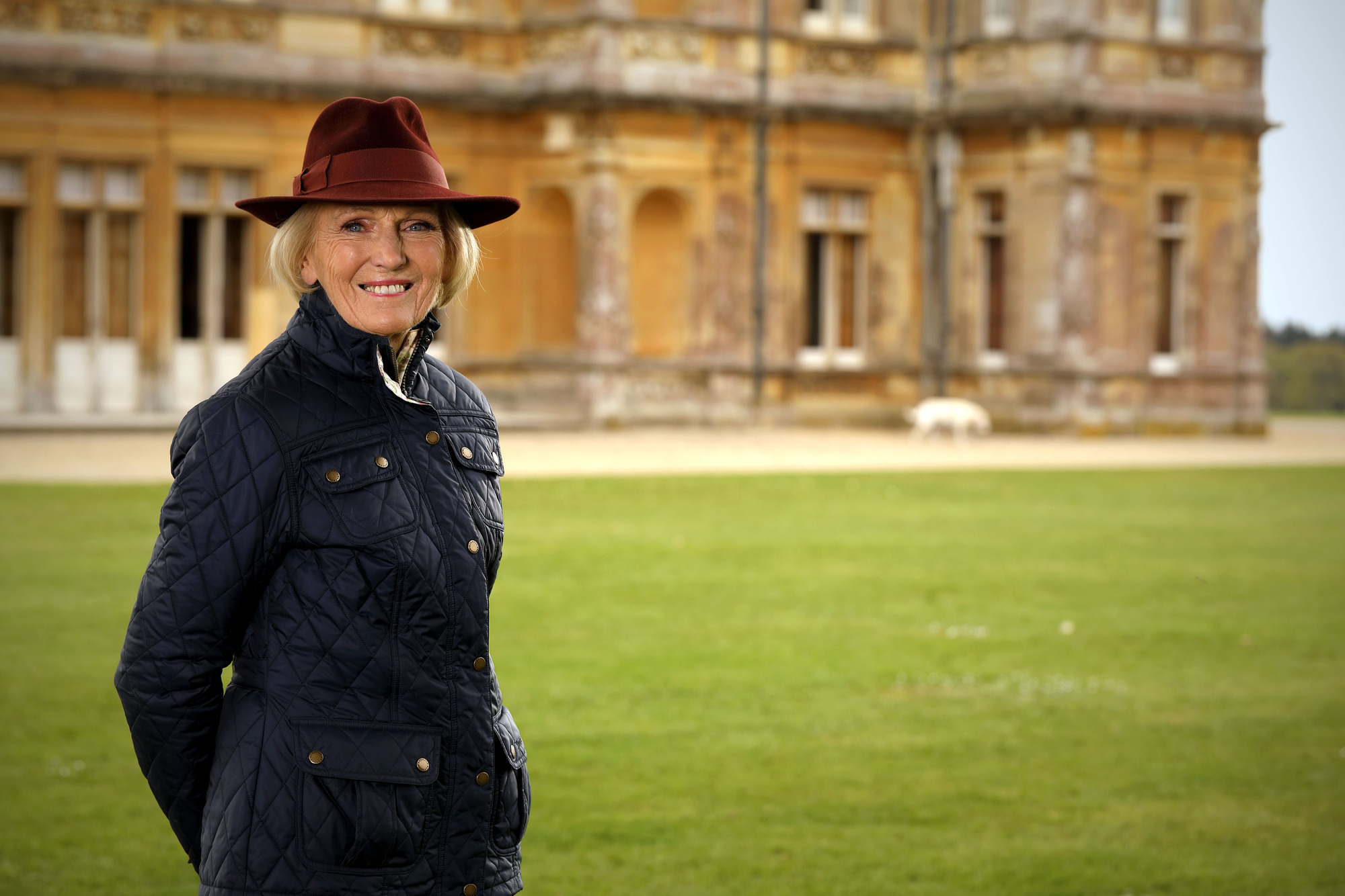 Programme Name: Mary Berry's Country House Secrets  - TX: 22/11/2017 - Episode: n/a (No. 1) - Picture Shows:  Mary Berry - (C) Shine TV Ltd - Photographer: Glenn Dearing
