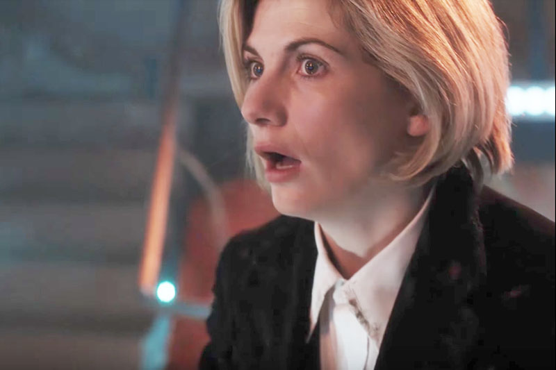 Jodie Whittaker as the Thirteenth Doctor (BBC, HF)