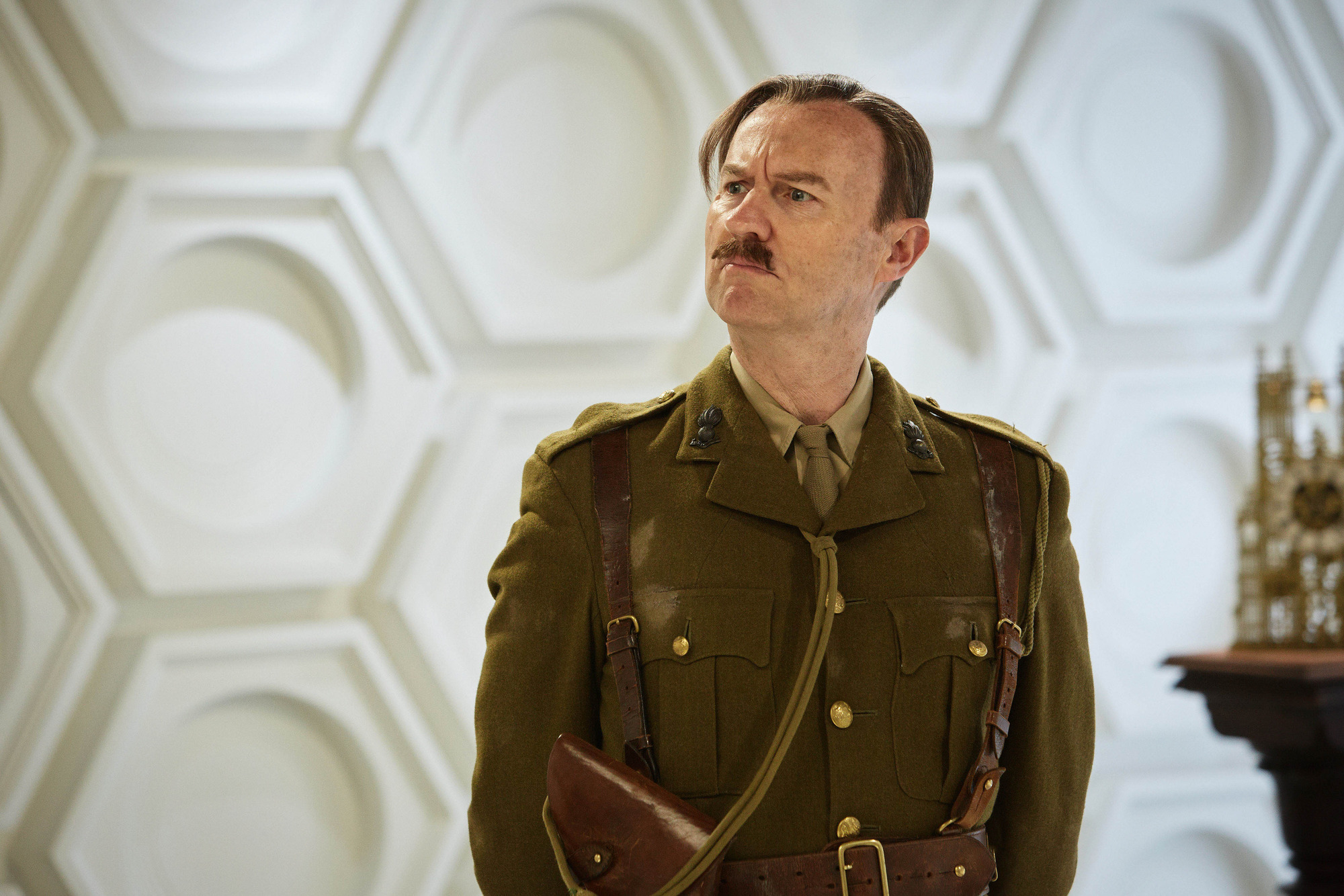 Mark Gatiss in Doctor Who: Twice Upon a Time  BBC, TL