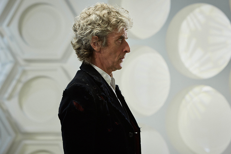 Peter Capaldi in Twice Upon a Time