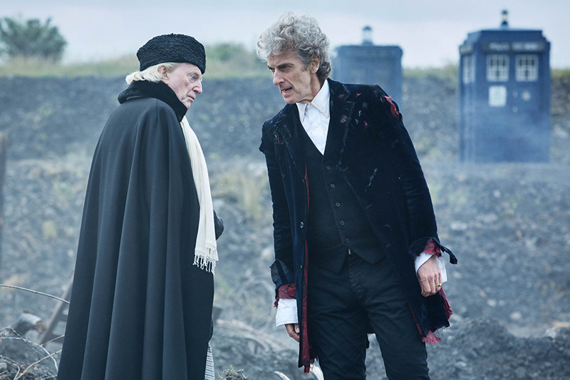 New DOCTOR WHO Christmas Trailer Teases a Capaldi Farewell Special