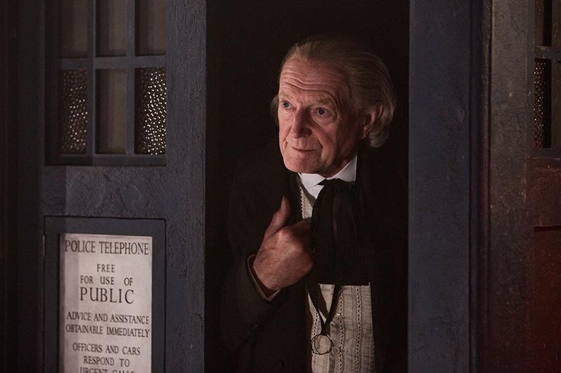 Дэвид Брэдли как первый доктор дважды в раз (BBC, HF)