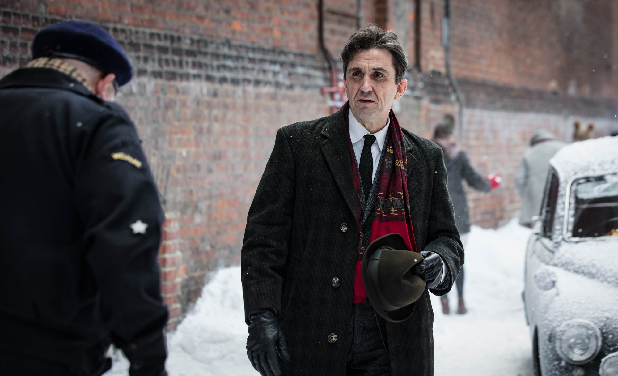 Dr Turner (STEPHEN McGANN) in the Call the Midwife 2017 Christmas special