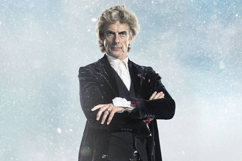 Peter Capaldi as the Twelfth Doctor in Twice Upon a Time
