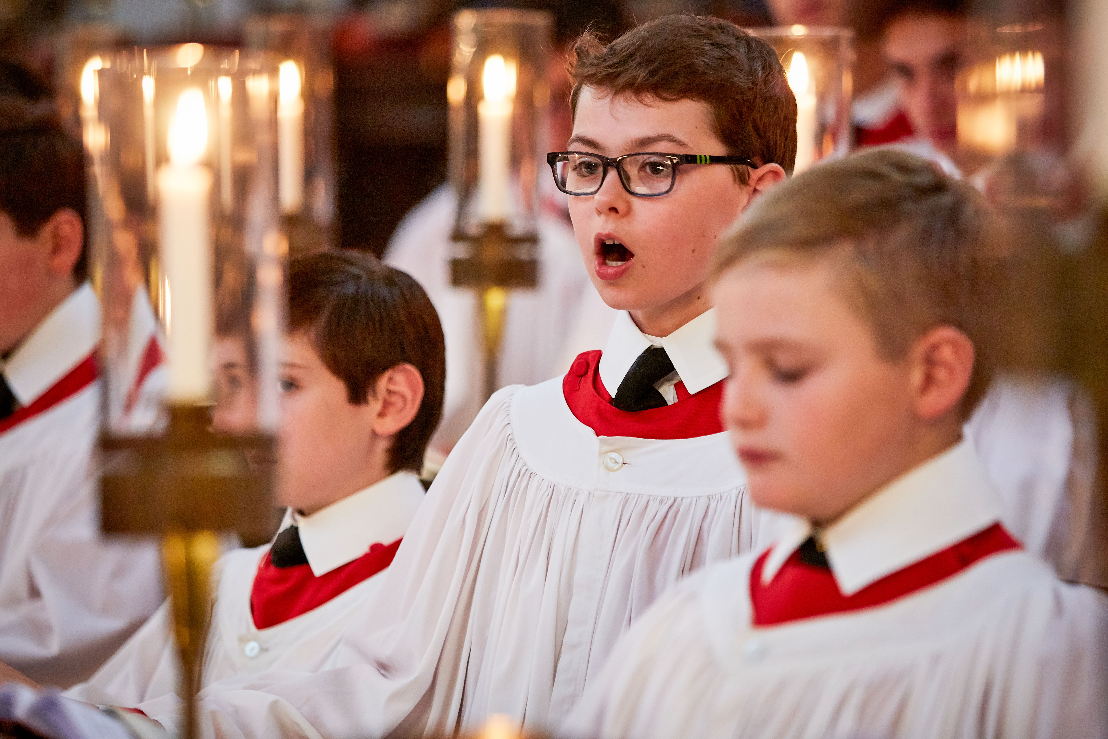 WARNING: Embargoed for publication until 00:00:01 on 28/11/2017 - Programme Name: Carols from Kings 2017 - TX: n/a - Episode: n/a (No. Press Release) - Picture Shows: Kings College Choir *STRICTLY NOT FOR PUBLICATION UNTIL 00:01HRS, TUESDAY 28TH NOVEMBER, 2017* - (C) Kevin Leighton - Photographer: Kevin Leighton