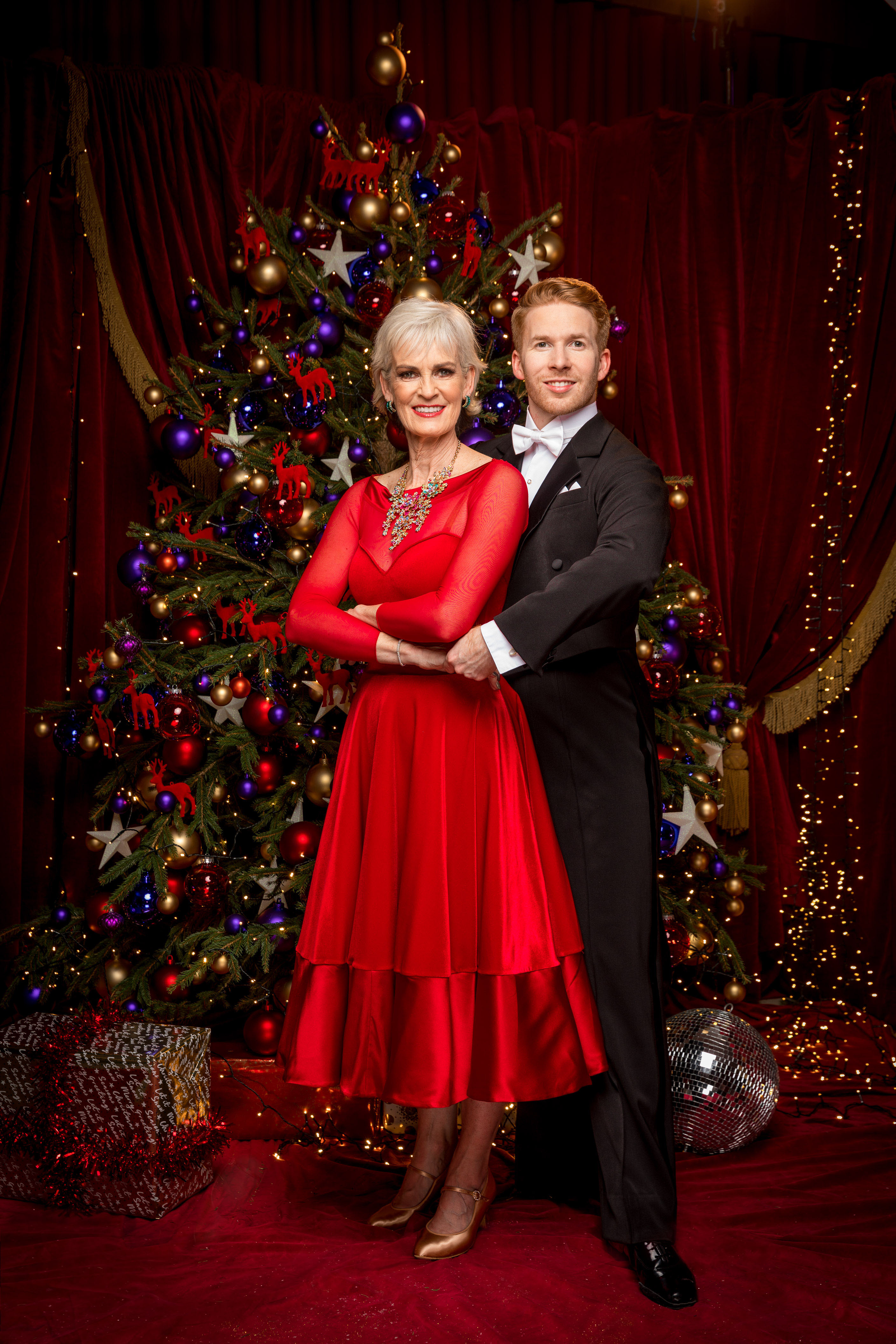 Judy Murray Strictly (BBC, EH)
