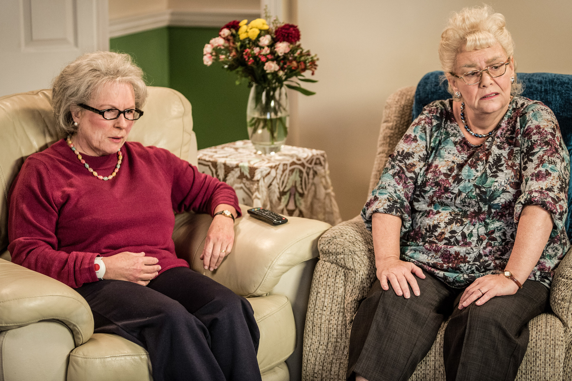 WARNING: Embargoed for publication until 00:00:01 on 09/12/2017 - Programme Name: 300 Years of French & Saunders - TX: n/a - Episode: 300 Years of French & Saunders (No. n/a) - Picture Shows: **EMBARGOED FOR PUBLICATION UNTIL 00:01 ON SATURDAY 9TH DECEMBER 2017** Dawn French, Jennifer Saunders - (C) BBC - Photographer: Gary Moyes (BBC, TL)
