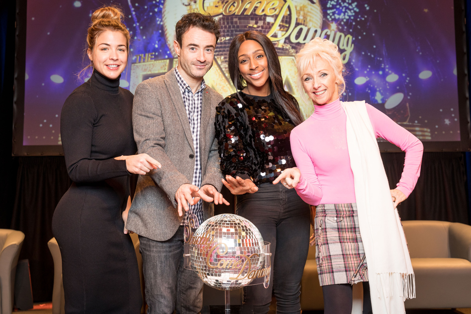 Strictly Come Dancing finalists 2017