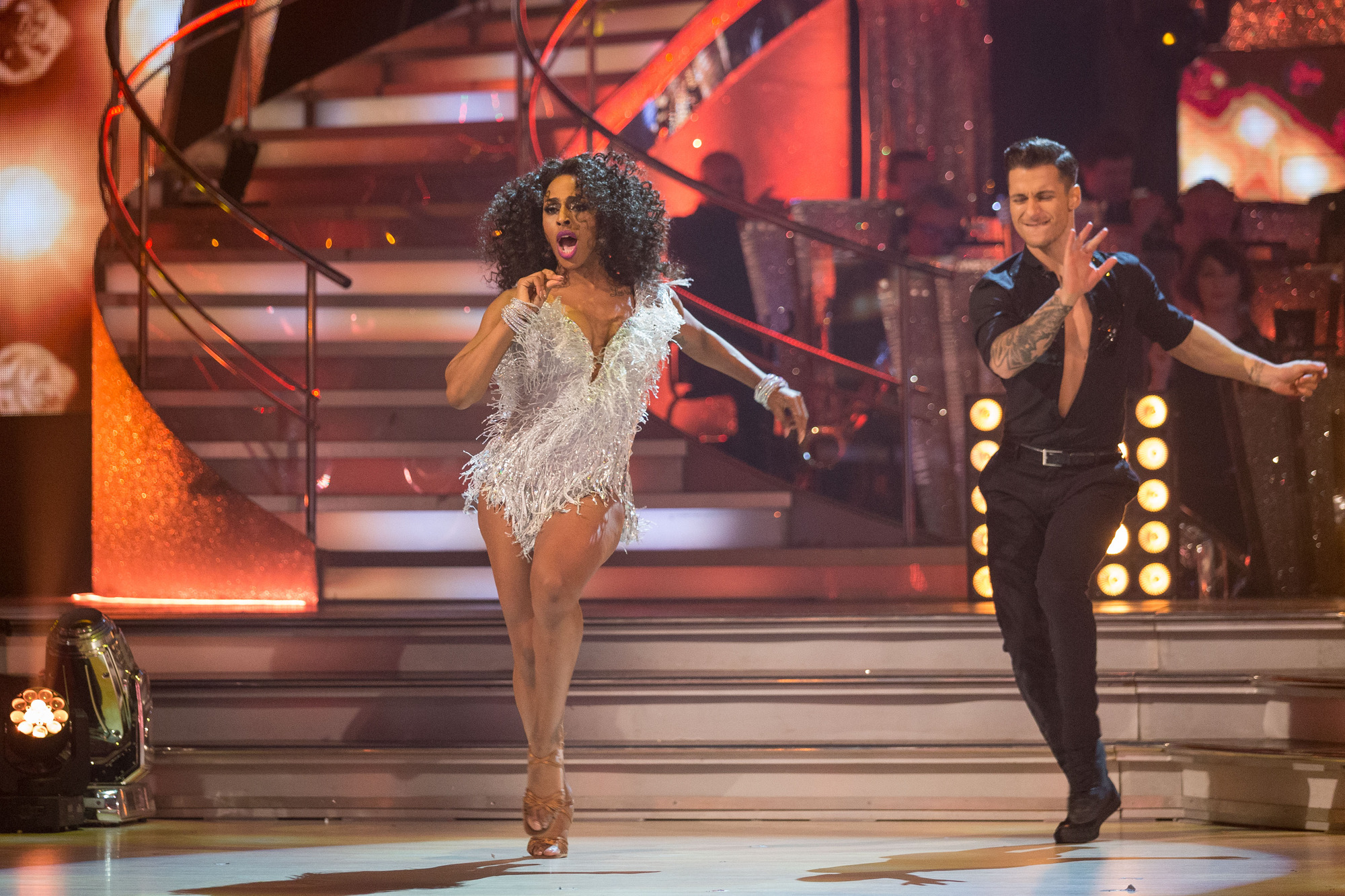 Alexandra Burke Strictly Come Dancing final