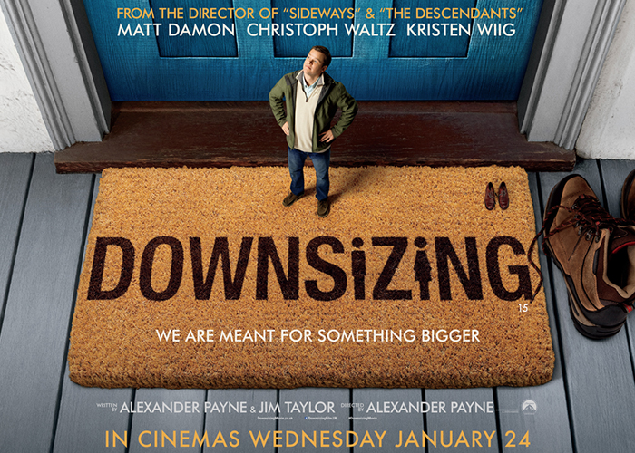 Movie Scene: 'Downsizing' Big On Ideas