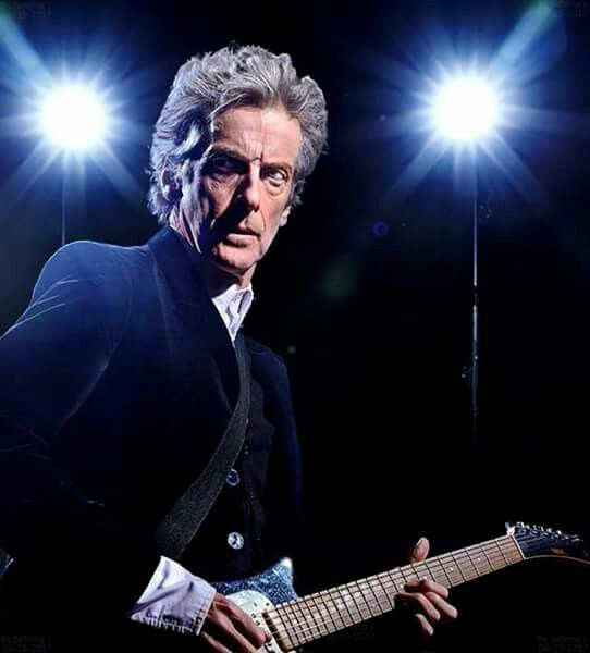 Capaldi rock and roll Doctor